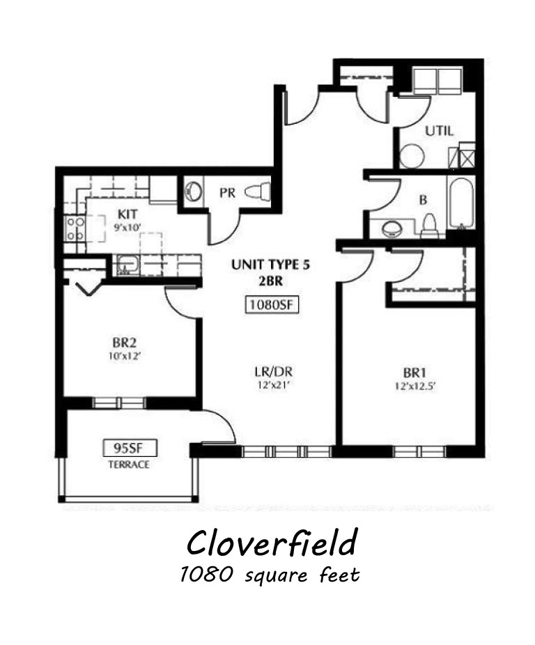 Clover Creek Apartments: Mcplan_cloverfield