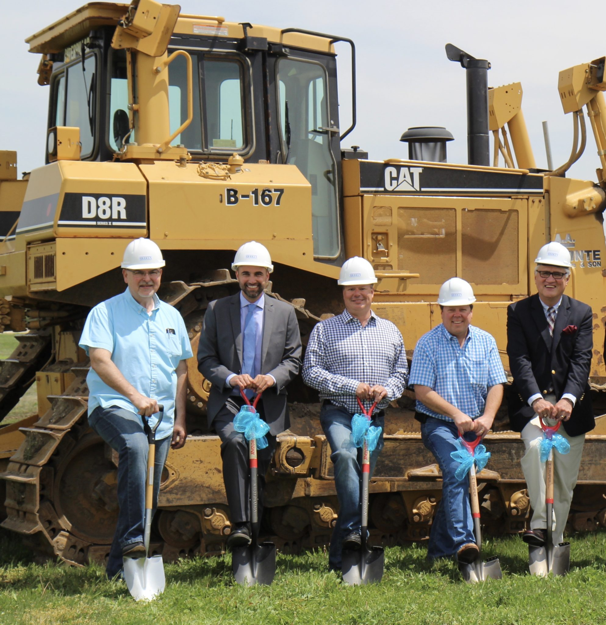 Groundbreaking of Prairie Centre